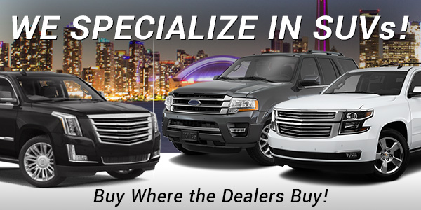 Browse Our SUVs