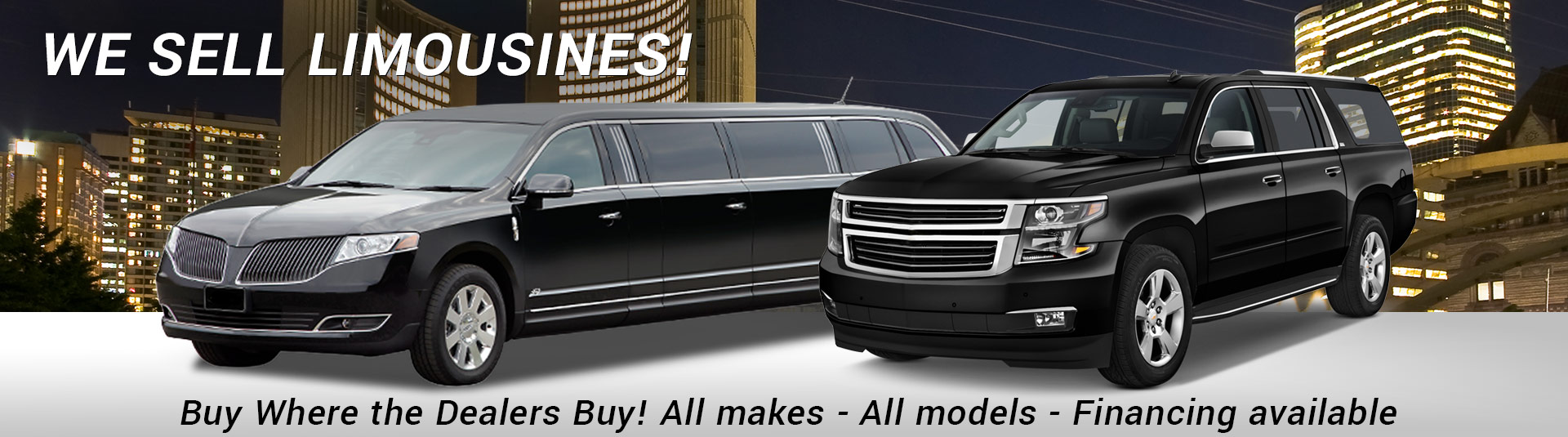 We sell limousines!